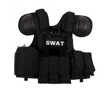 MFH SWAT Riot Vest Black