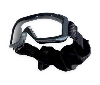 Bollé X1000 Ballistic Goggles Black (Dual Lens)