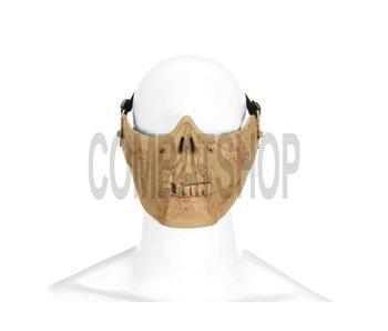 Invader Gear Skull Mask Half Face (Bone)