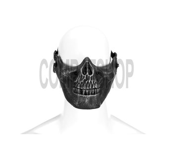Invader Gear Skull Mask Half Face (Metallic)