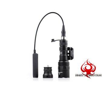 Night Evolution M300B Mini Scout Weaponlight Black