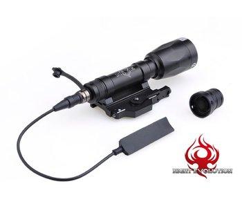 Night Evolution M620P Scout Light LED Full Black NE 04028