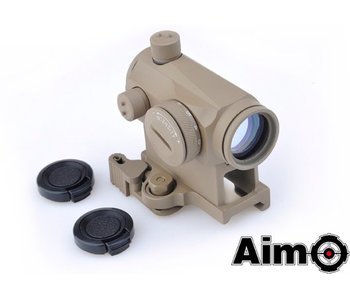 Aim-O T1 RedDot QD Mount Dark Earth