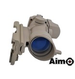 Aim-O 4x32 QD Combo Combat Scope Tan