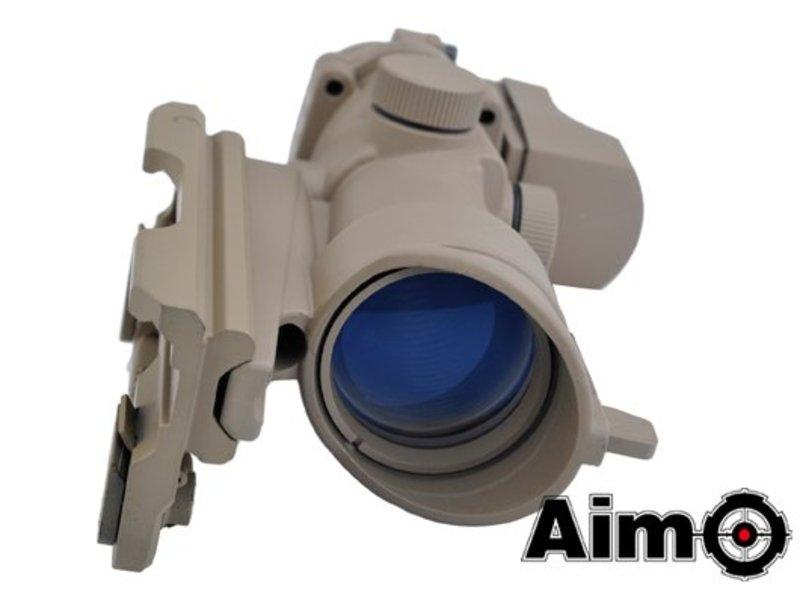 Aim-O 4x32 QD Combo Combat Scope Tan
