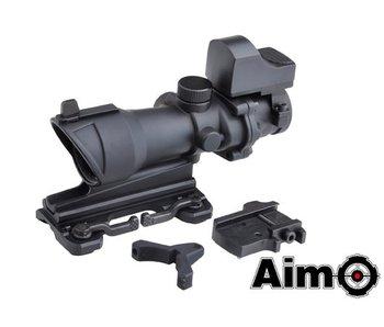 Aim-O 4x32 QD Combo Combat Scope Black