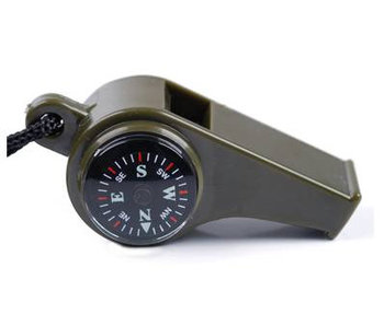 Fosco 3 in 1 Fluit, met Kompas en Thermometer