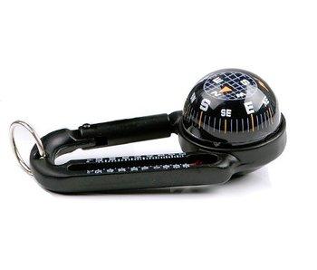 Fosco Karabijnhaak met Kompas en Thermometer