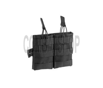 Invader Gear 5.56 Double Direct Action Mag Pouch Black