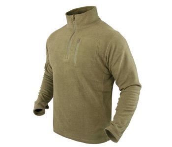 Condor Zip Fleece Pullover Coyote Tan - Medium