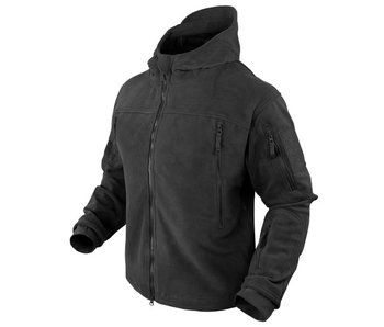 Condor SIERRA Hooded Fleece Jacket Black - XL