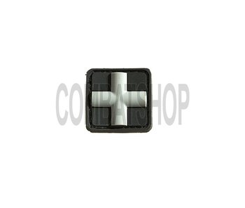 JTG Red Cross Rubber Patch 25mm SWAT