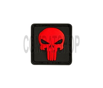 JTG Punisher Rubber Patch Red
