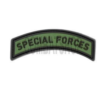 JTG Special Forces Tab Rubber Patch Forest