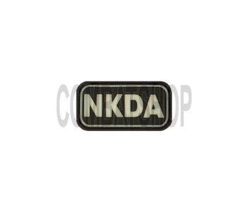 JTG NKDA Rubber Patch Glow In The Dark
