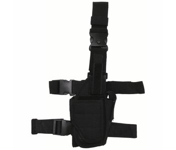 MFH Tactisch holster - instelbaar - Zwart