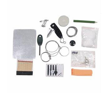MFH Combat Survival kit in waterdichte doos