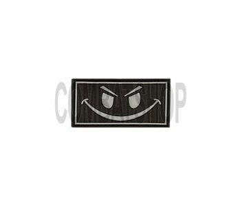 JTG Evil Smiley Rubber Patch Swat