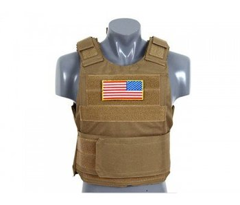 8 Fields PT Delta Concealable Body Armor- TAN