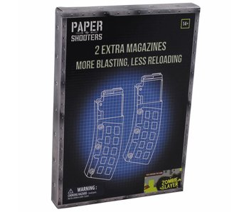 "Paper Shooters Magazijn ""Zombie Slayer"" (2-pack)"