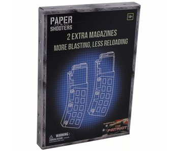 "Paper Shooters Magazijn ""Patriot"" (2-pack)"