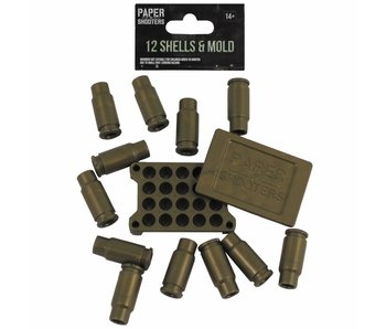 Paper Shooters Shells & Mold (12rds)