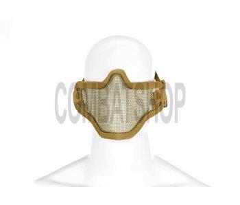 Invader Gear Steel Half Face Mask Tan