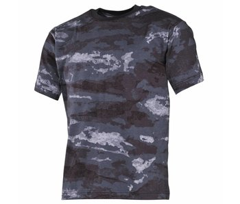 MFH US T-Shirt HDT-Camo/Atacs-LE