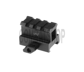 UTG High Profile 3-Slot Twist Lock Riser Mount