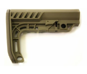 WE NUPROL NP M4 AXE Stock - Tan