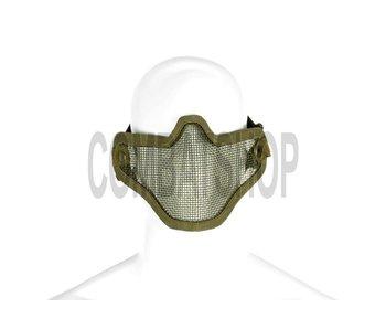 Invader Gear Steel Half Face Mask Olive Drab (OD)