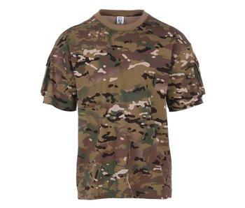 101Inc. T-shirt with Velcro - meerdere kleuren