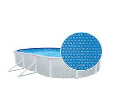 Isolerend afdekzeil (solar afdekzeil) voor ovaal zwembad