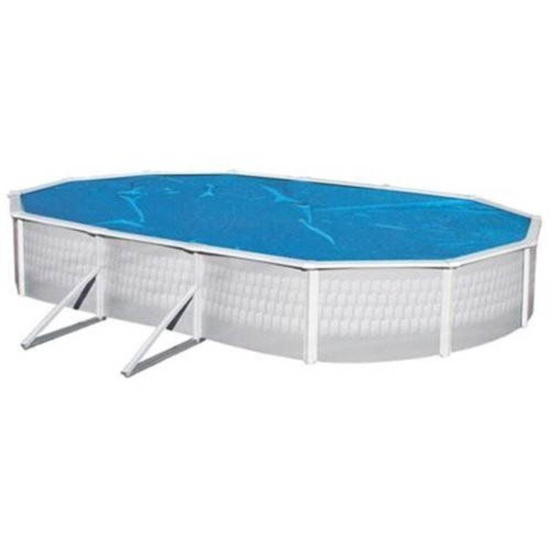 Interline Zwembadafdekking Ovaal Solar Profi 840x490 cm