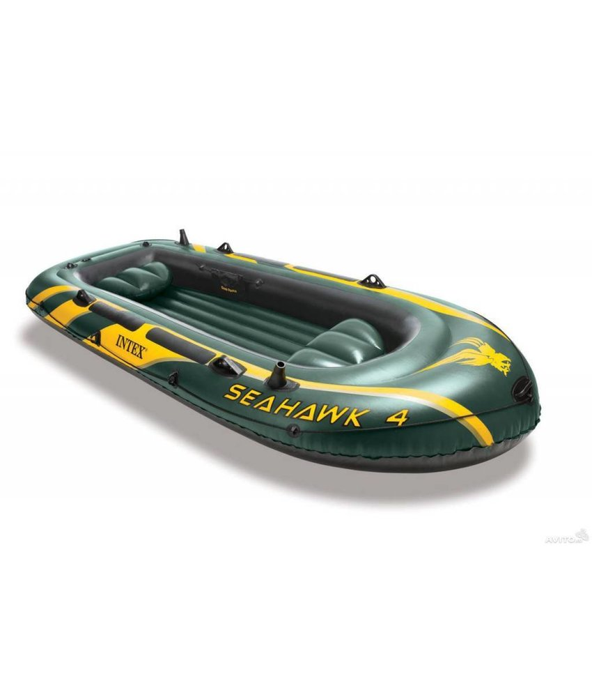 Intex Seahawk 4 - 4 pers. boot met peddels en pomp