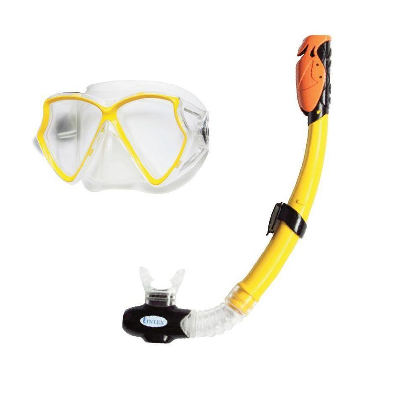Intex Sillicone Aviator Pro Swim snorkelset