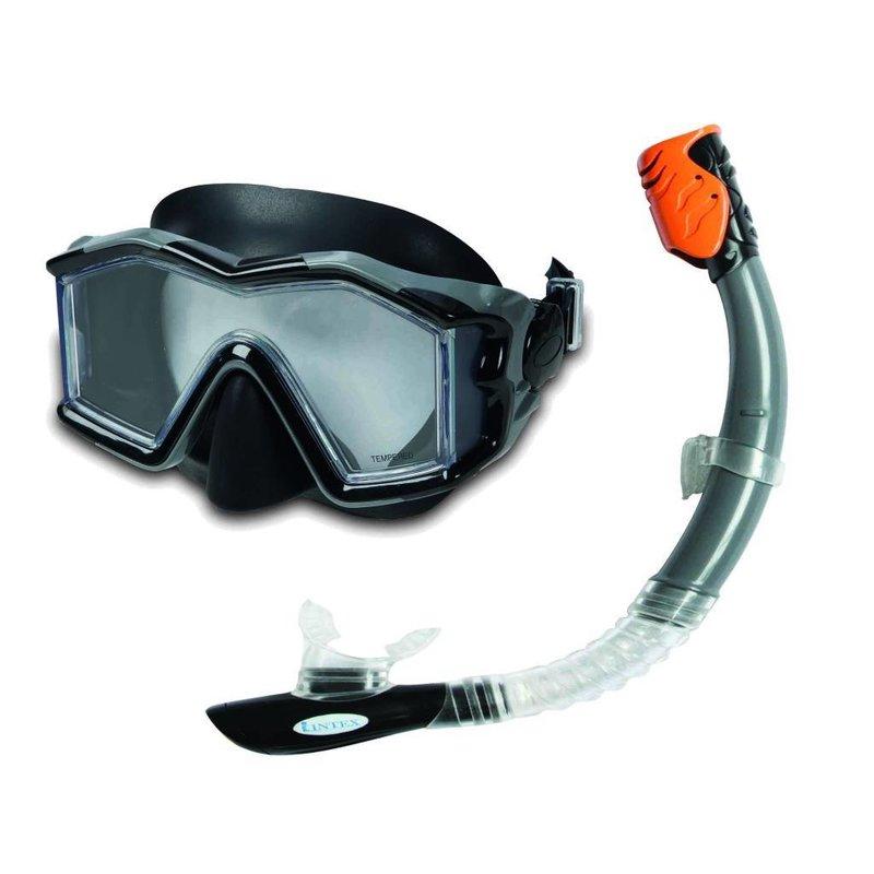 Intex Sillicone Explorer Pro Swim snorkelset
