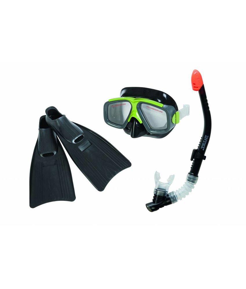 Intex Surf Rider Snorkelset met zwemvinnen