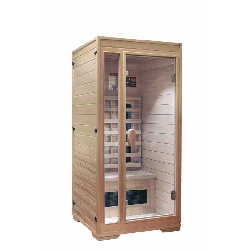 Interline Premium 1-persoons infraroodcabine sauna