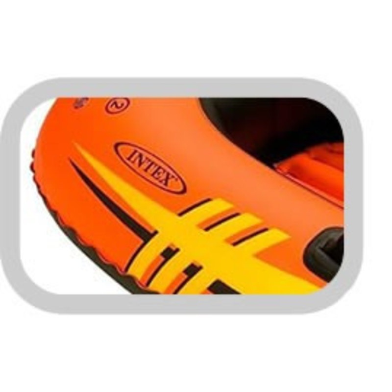 Intex Explorer Pro 200 - 2 persoons boot + peddels en pomp