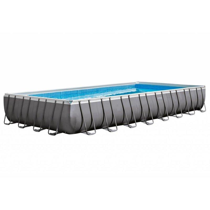 Intex Ultra Frame Pool met zandfilter 975x488x132 cm