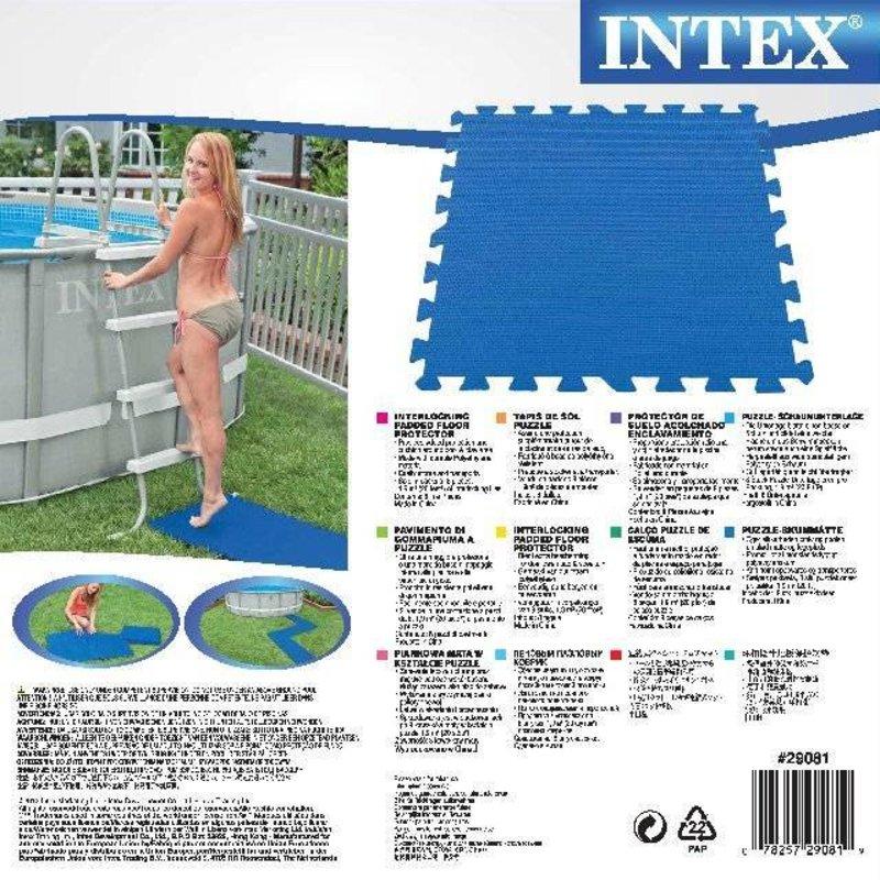 Intex Beschermingstegels 50x50 cm (8 stuks)