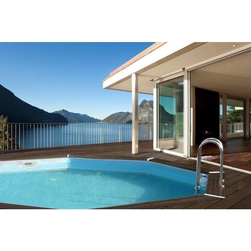 Zwembad bali met zandfilter 440x136 cm for Zwembad met filter aanbieding