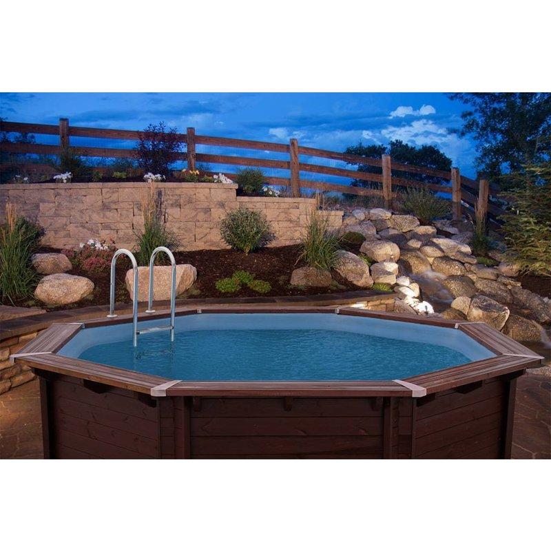Zwembad bali met zandfilter 530x136 cm for Zwembad met filter aanbieding