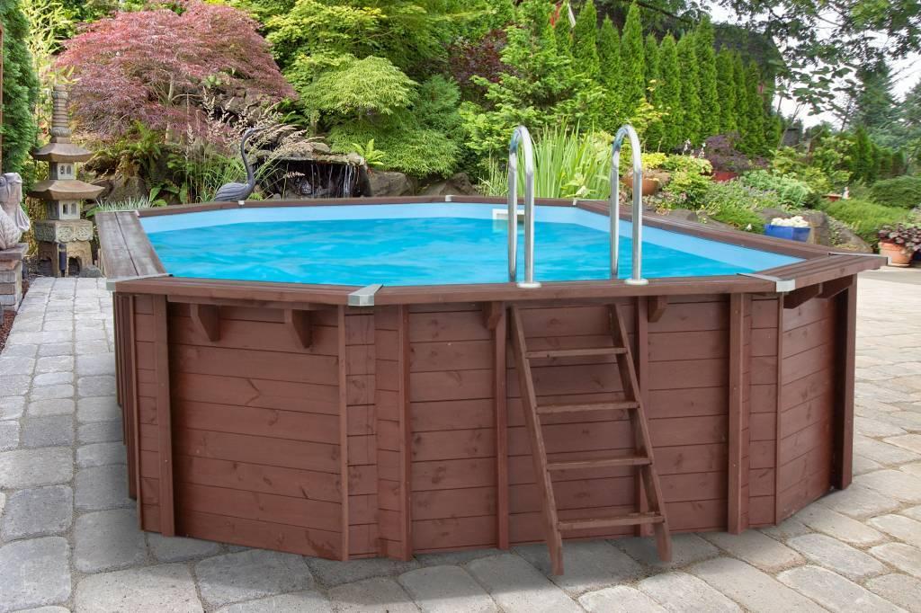 zwembad bali ovaal met zandfilter 640x400x136 cm. Black Bedroom Furniture Sets. Home Design Ideas