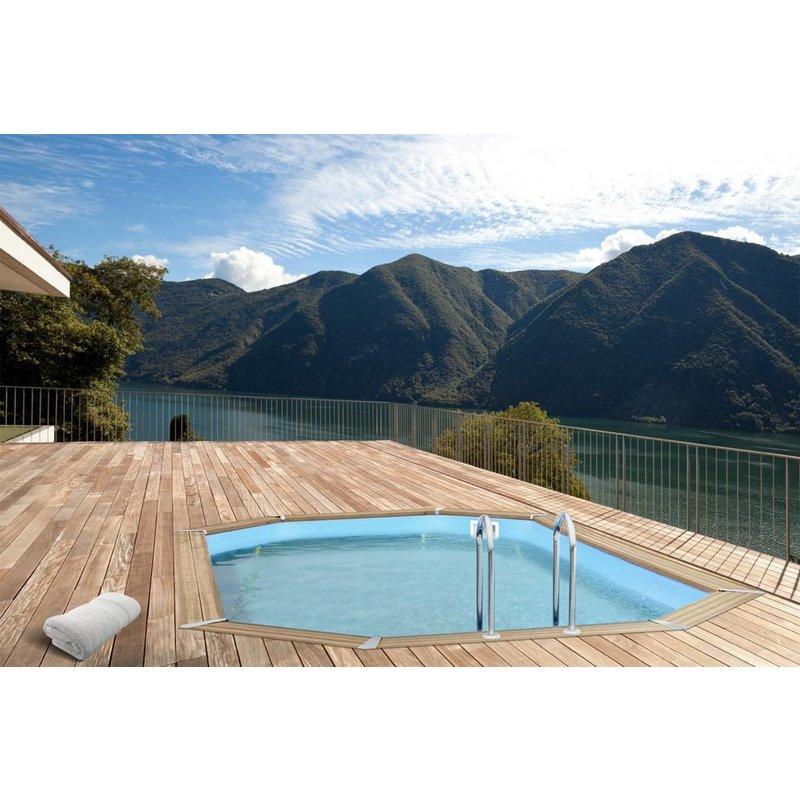 Zwembad bali ovaal met zandfilter 840x490x136 cm for Zwembad met filter aanbieding