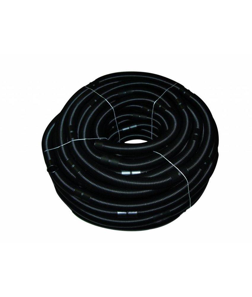 Mega Solarslang 38 mm per 0.5 meter zwart