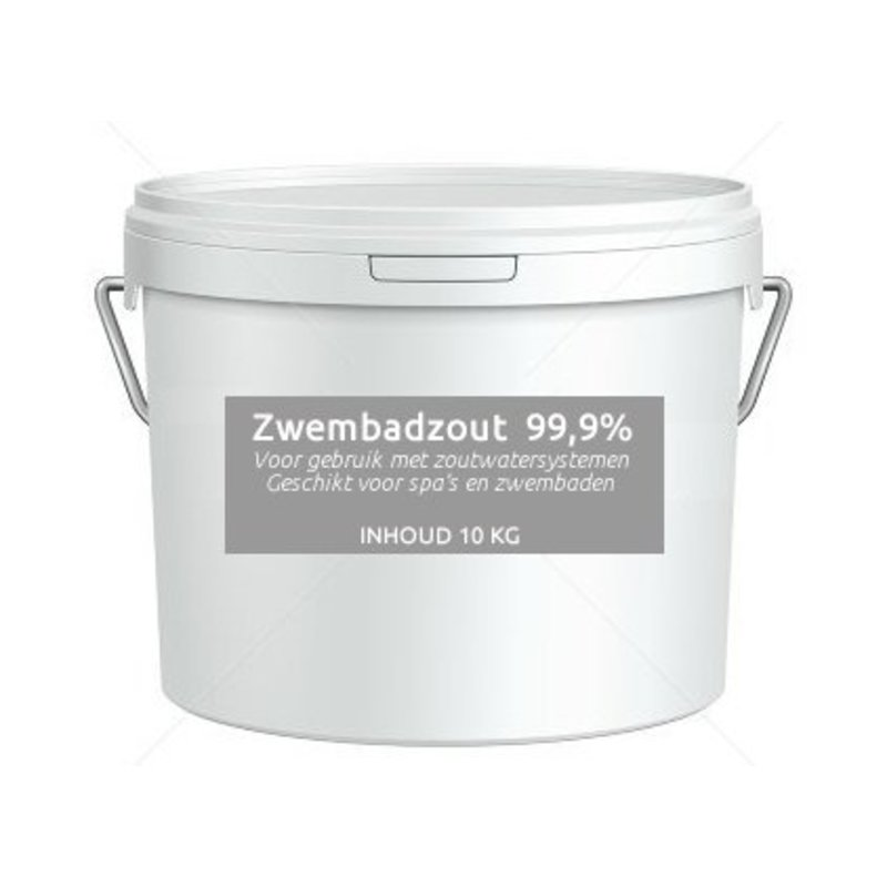 Zwembadzout 99,9% natriumchloride 5 kg