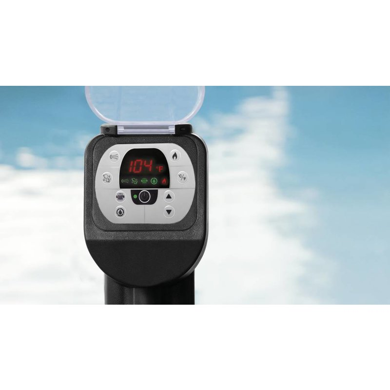 Intex PureSpa Jet & Bubble Deluxe Octagon + HWS + ZWS 6 persoons