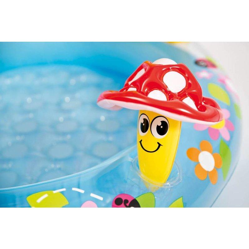 Mushroom baby zwembad for Intex zwembad baby